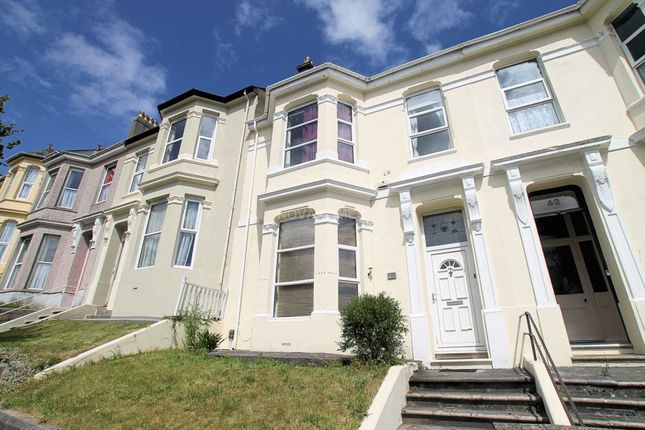 Thumbnail Terraced house for sale in Greenbank Avenue, Plymouth