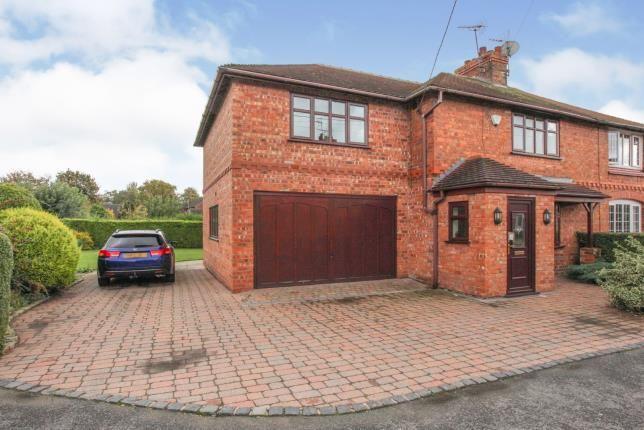 Thumbnail Semi-detached house for sale in Wrenbury Heath Road, Wrenbury, Nantwich, Cheshire
