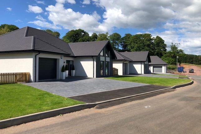 Thumbnail Detached bungalow for sale in Bertram Avenue, Carnwath, Lanark