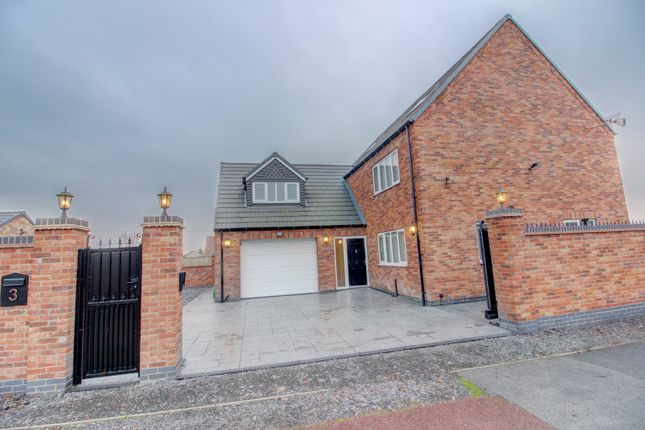 Thumbnail Detached house for sale in Christine Close, Yaddlethorpe, Nr. Scunthorpe