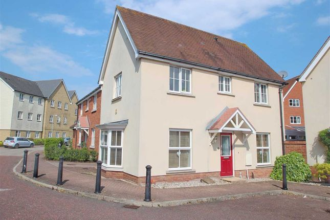 Thumbnail Link-detached house for sale in Weetmans Drive, Myland, Colchester