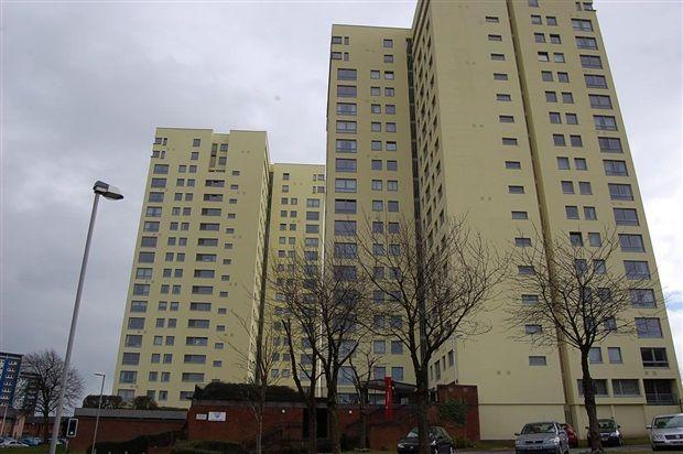 Flat for sale in Sandown Court, Preston
