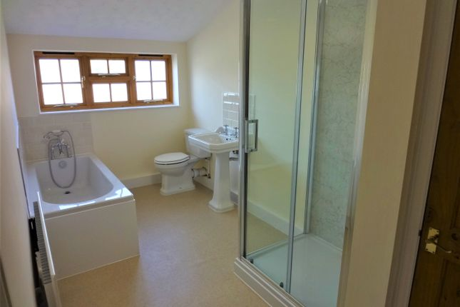 Refitted Bathroom With Separate Shower Cubicle: