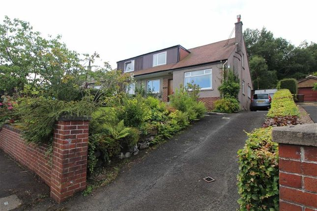 Thumbnail Semi-detached house for sale in South Street, Greenock, Renfrewshire