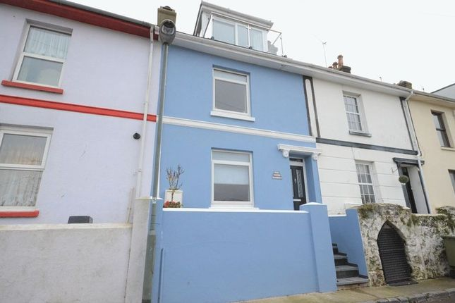 Thumbnail Terraced house for sale in Mount Pleasant Road, Brixham