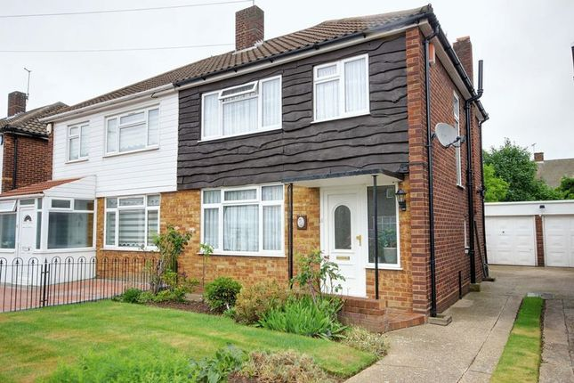 Thumbnail Semi-detached house for sale in Charcroft Gardens, Ponders End, Enfield