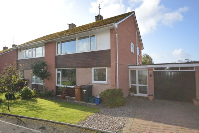 Thumbnail 3 bed semi-detached house for sale in Meadowfield, Gosforth, Seascale, Cumbria