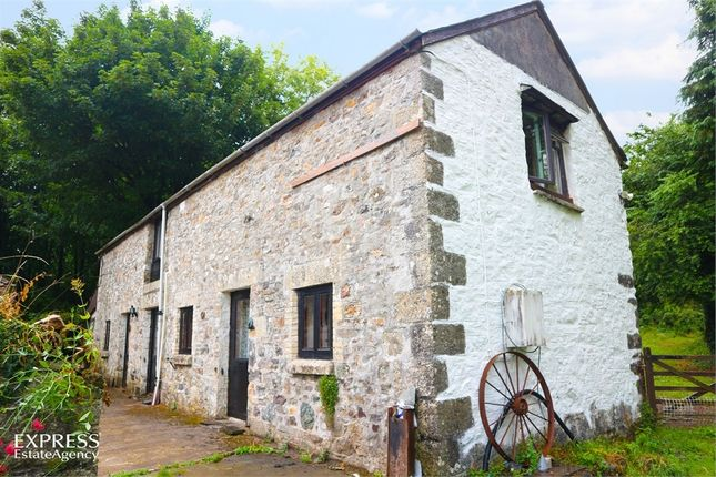 Thumbnail Barn conversion for sale in Brentor, Tavistock, Devon