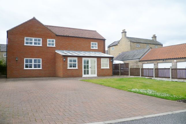 Thumbnail Detached house for sale in Rushley Manor, Mansfield