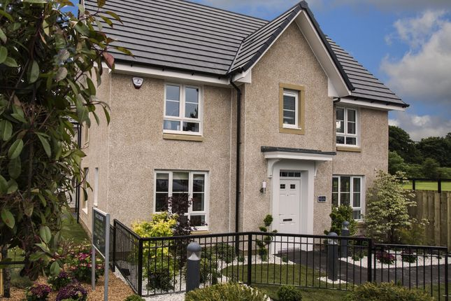 "Thumbnail Detached house for sale in ""Craigcrook"" at Falkirk Road, Bonnybridge"