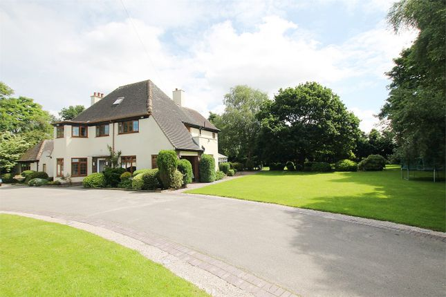 Thumbnail Detached house for sale in Warrington Road, Risley, Warrington