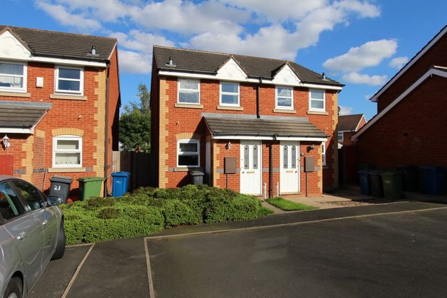 Thumbnail Semi-detached house to rent in Celandine, Kettlebrook, Tamworth, Staffordshire