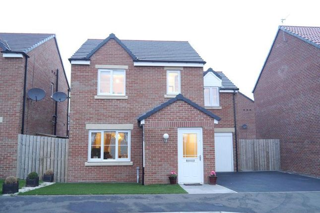 Thumbnail Detached house for sale in Ashcroft, Jameson Fields, Ponteland