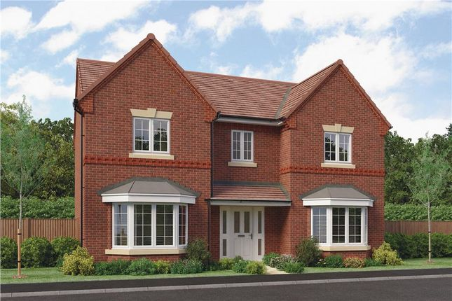 "Thumbnail Detached house for sale in ""Aston"" at Barnards Way, Kibworth Harcourt, Leicester"
