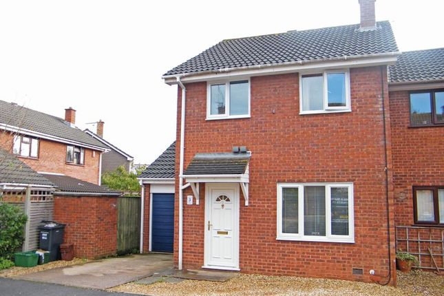 Thumbnail Semi-detached house to rent in Pine Close, Taunton, Somerset