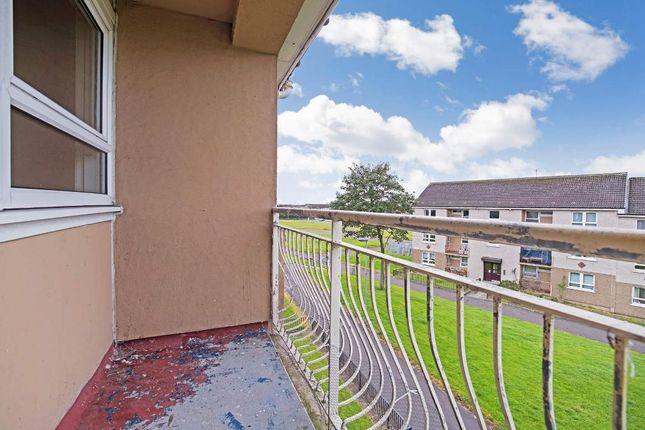 Balcony of Mossvale Walk, Craigend, Glasgow G33