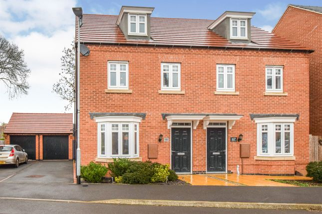 3 bed semi-detached house for sale in Longbreach Road, Kibworth Harcourt, Leicester LE8