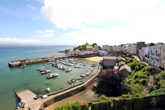 Thumbnail End terrace house for sale in Harbour Heights, Crackwell Street, Tenby