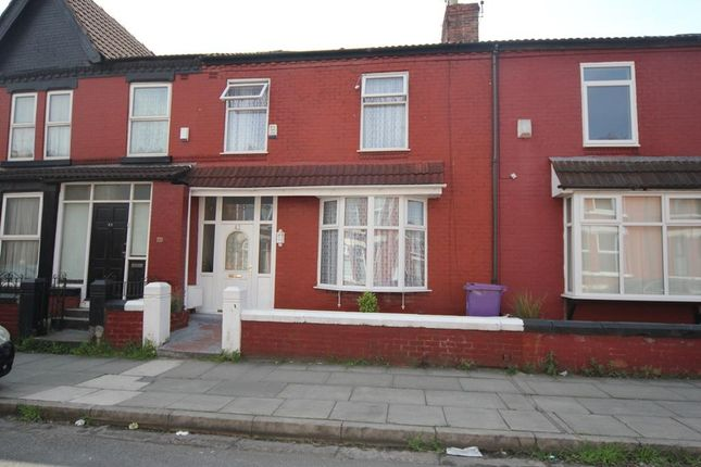 Thumbnail Terraced house to rent in Russell Road, Allerton, Liverpool