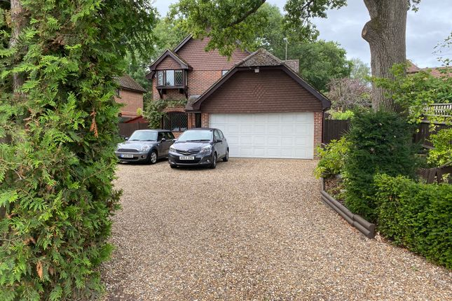 Thumbnail Detached house for sale in Reading Road, Hound Green, Hook