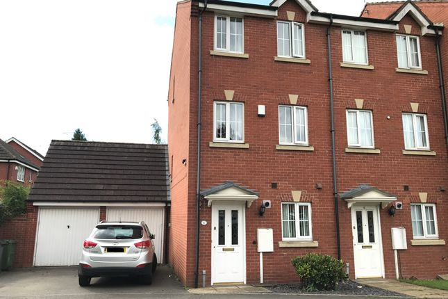 Thumbnail End terrace house for sale in Aqua Place, Rugby