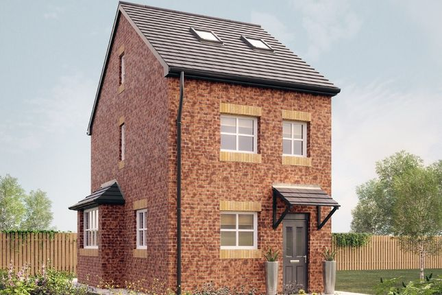Thumbnail Semi-detached house for sale in The Burnaby, Woodhouse Vale, Pepper Road, Leeds