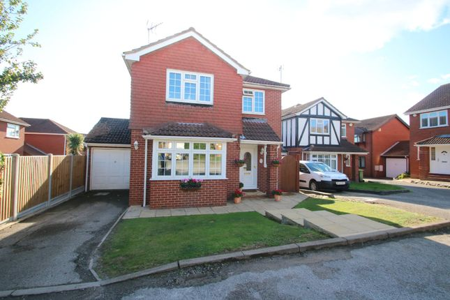 Thumbnail Detached house for sale in Welbeck Close, Hawkwell, Hockley