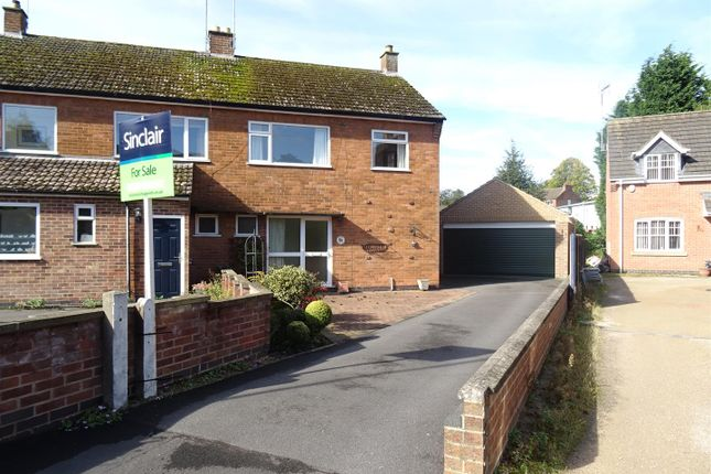 Thumbnail Semi-detached house for sale in Garendon Close, Shepshed, Leicestershire