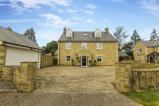 Thumbnail Detached house for sale in The Nursery, Medburn, Ponteland