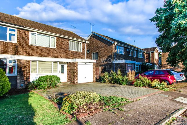 Thumbnail Semi-detached house for sale in Byron Avenue, Colchester
