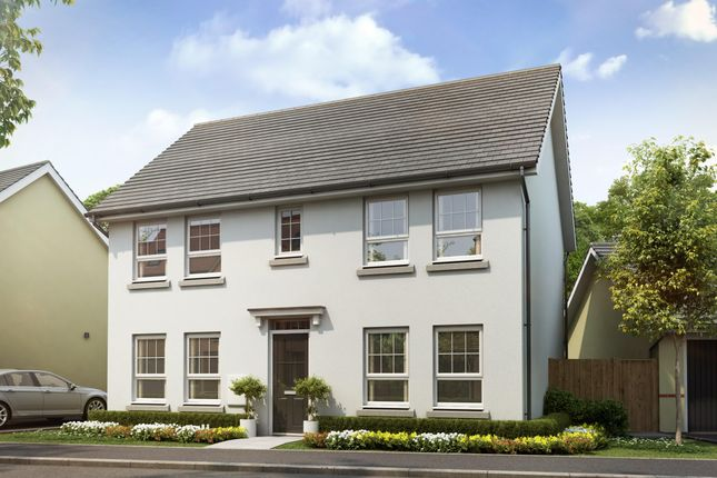 "Thumbnail Detached house for sale in ""Thornbury"" at Tiverton Road, Cullompton"