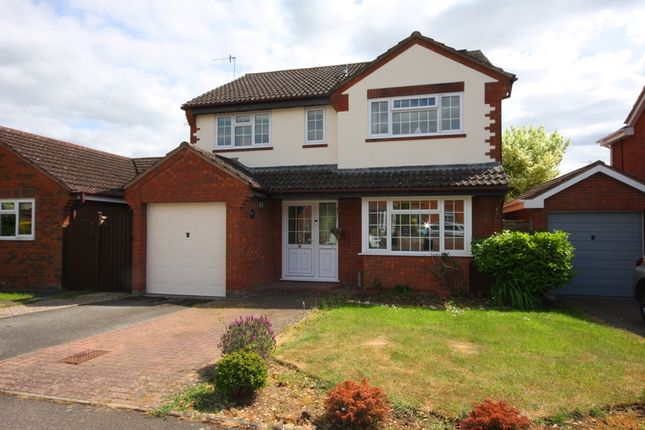 Thumbnail Detached house for sale in Badsey Fields Lane, Badsey