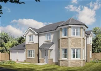 Thumbnail Detached house for sale in Off Kilmarnock Road, Troon