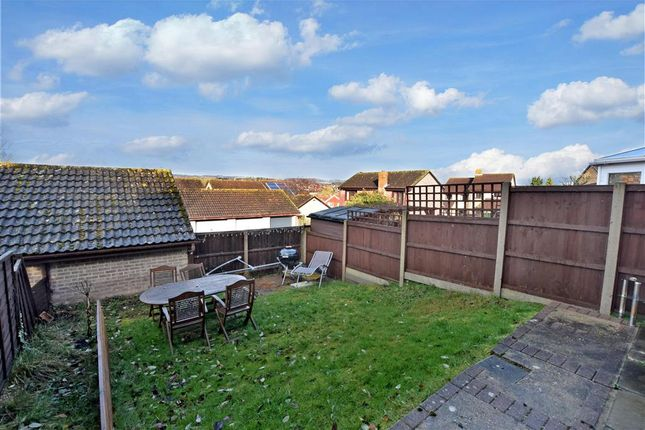 Rear Garden of Grampian Way, Downswood, Maidstone, Kent ME15