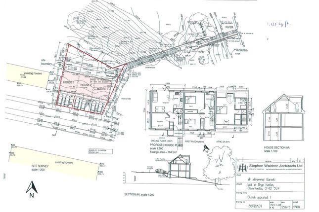Thumbnail Land for sale in Bryn Henllan, Blaenrhondda, Treorchy
