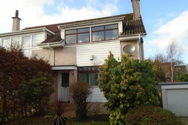 Thumbnail Semi-detached house to rent in Kirkdene Avenue, Newton Mearns, Glasgow