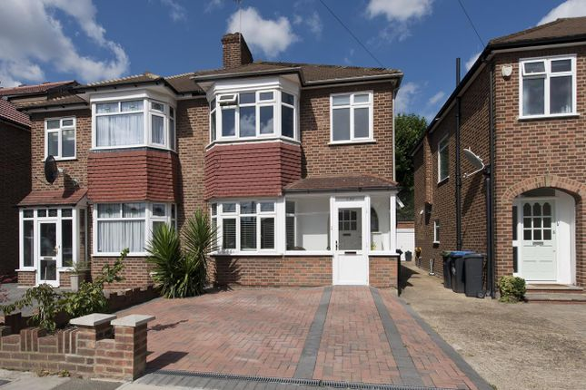 Thumbnail Semi-detached house for sale in Amberley Road, Enfield