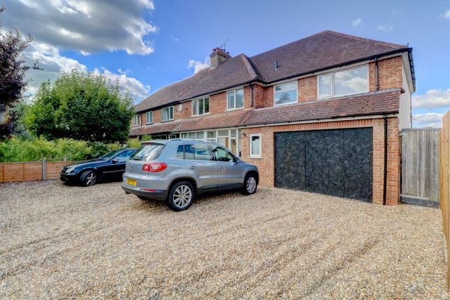 Thumbnail Semi-detached house for sale in Farm Close, Holly Lane, Worplesdon, Guildford