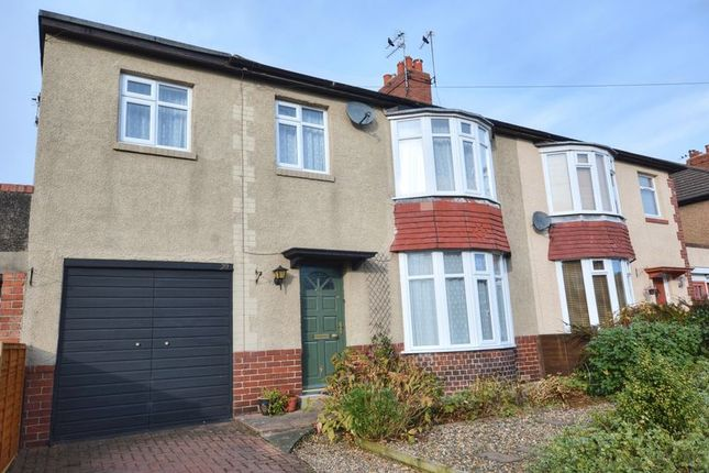 Thumbnail Semi-detached house for sale in Greensfield Avenue, Alnwick