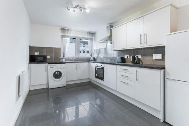 Kitchen of Fiddoch Court, Newmains, Wishaw, North Lanarkshire ML2