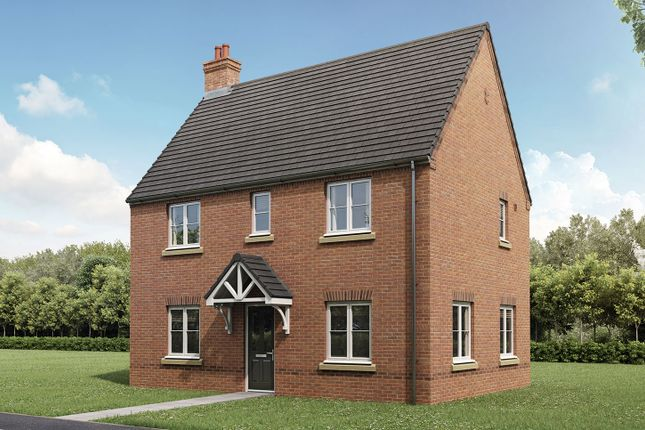 """Thumbnail Semi-detached house for sale in """"The Mountford"""" at Gallows Hill, Warwick"""