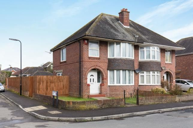 Thumbnail Semi-detached house for sale in Wilton Crescent, Shirley, Southampton