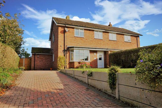 Thumbnail Semi-detached house for sale in New Houses, Shawbury, Shrewsbury