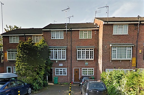 Thumbnail Terraced house to rent in Bluecoat Close, City