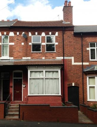 Thumbnail Terraced house for sale in Westbourne Rd, Handsworth, Birmingham