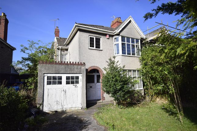 Thumbnail Semi-detached house for sale in Cleeve Hill, Bristol