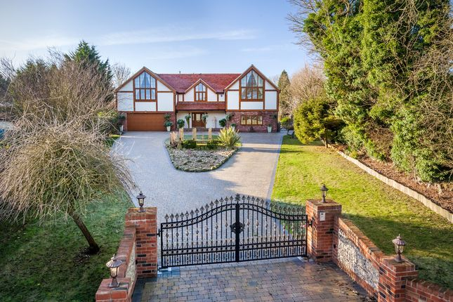 5 bed detached house for sale in Pedlars Lane, Therfield, Royston
