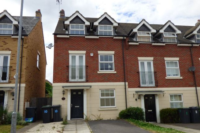 Thumbnail Terraced house to rent in Alderman Close, Beeston, Nottingham