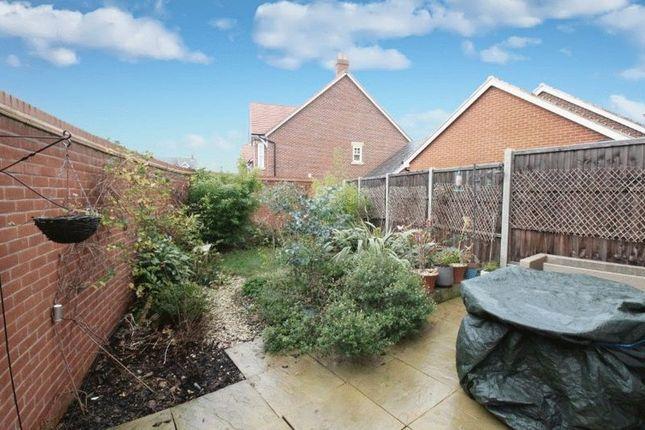 Garden of Clover Way, Kempston MK42