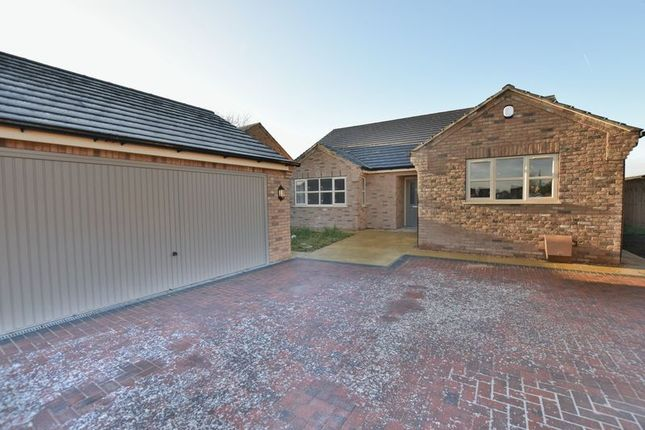 Thumbnail Detached bungalow for sale in Poplar Close, North Greetwell, Lincoln